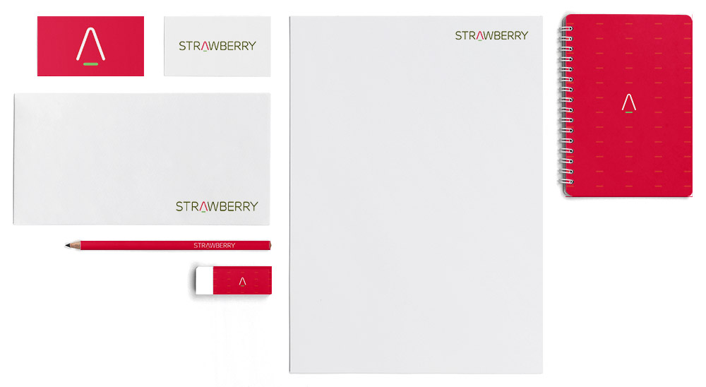 strawberry investment branding