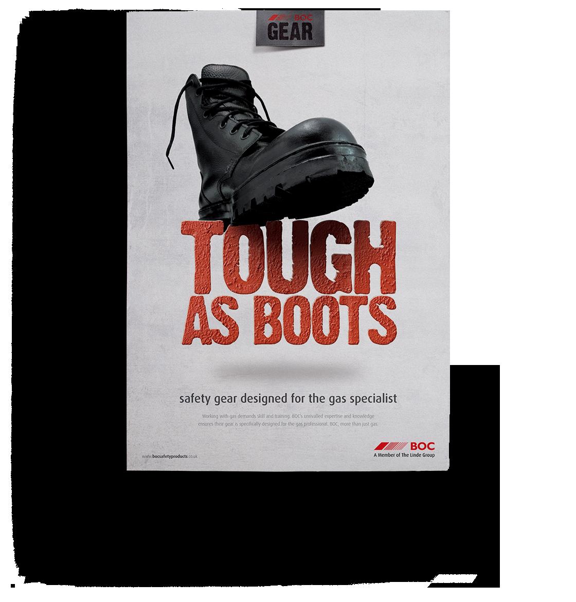 BOC tough as boots