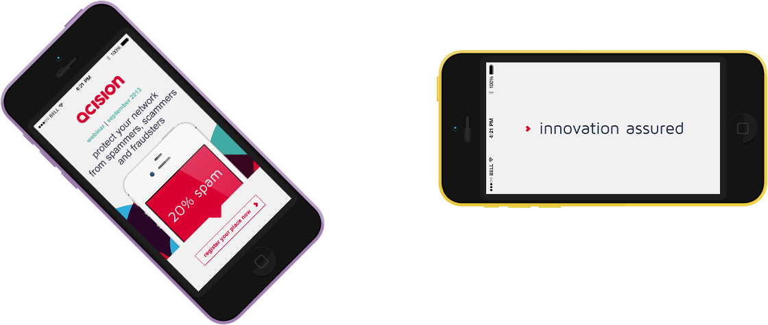 acision - online, in app